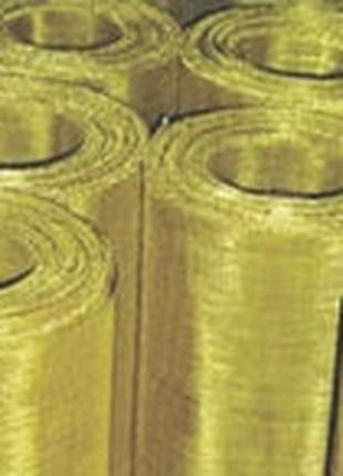 Сетка тканная латунная Л-80 0,7-0,3