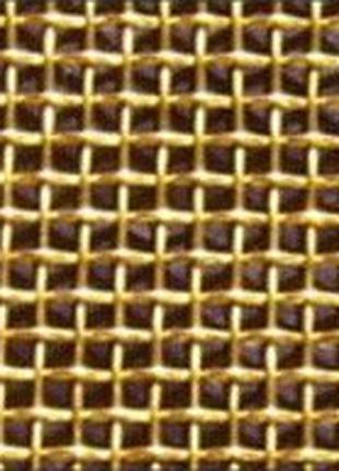 Сетка тканная латунная Л-80 0,355-0,16