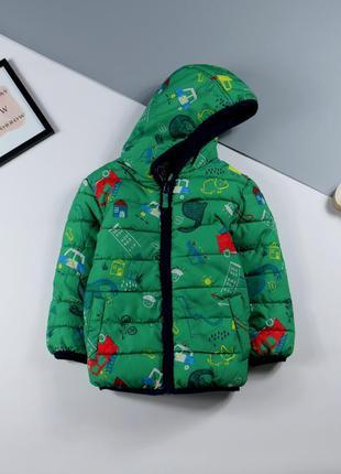 Тёплая куртка george 2-3 года, рост 92-98 см