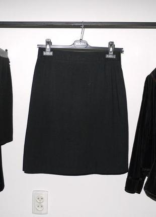 Строгая (классическая ) черная юбка