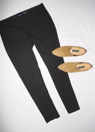 Mexx . брендовые укороченные классические брюки ,черные