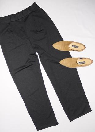 Черные брюки палаццо . посадка завышеная . сзади на резинке . ...