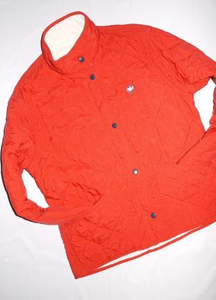 Murphy&nye брендовая курточка стеганка . красная