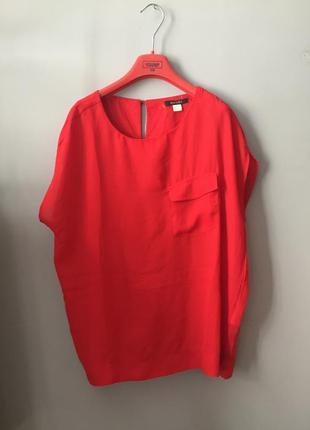 Esmara блуза красная ( алая с карманом )
