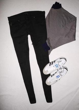 Брендовые джинсы aquascutum черные скинни ( skinny )