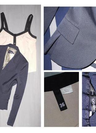 Классический пиджак темно синий jake's
