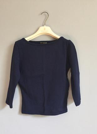 Брендовых топ свитер темно синий amaya arzuaga