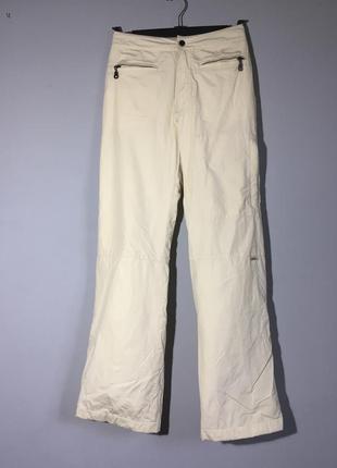 Luhta . лыжные штаны ( для сноуборда ) утеплённые кремовые
