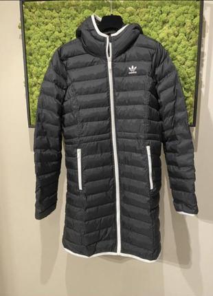 Дутое пальто adidas