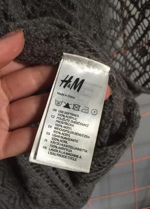 Серый снуд h&m палантин