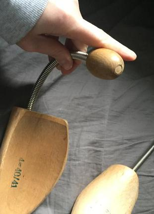 Деревянный держатель формы обуви р.40-41