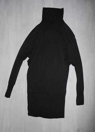 Платье гольф . рукав реглан (летучая мышь)