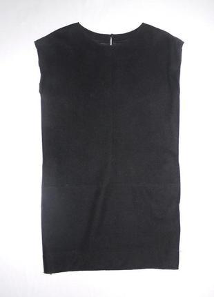 Mango suit . новое платья футляр черное . шерсть