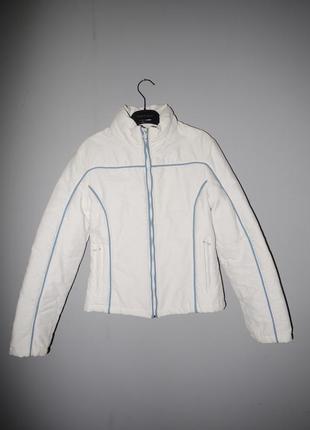 Белоснежная курточка pep lasera  осень весна