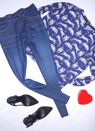 Темно синие mom jeans ( мам джинс , бананы , бойфренды ) 100% ...