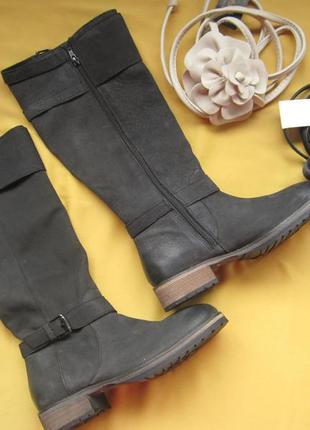 Новые качественные кожаные сапоги,р.38,индия,mantaray