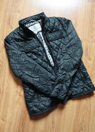 Изумительная легкая стеганая куртка весна осень люкс бренд ита...