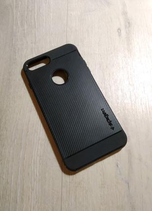 IPhone 7 Plus / 8 Plus чехол полиуретановый spigen hybrid carbon
