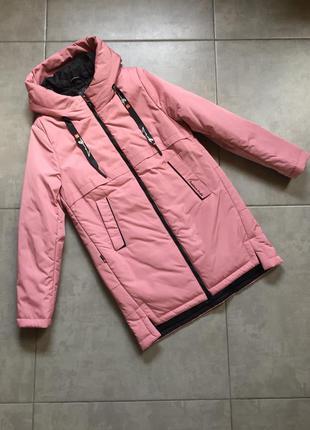 Осенняя куртка, демисезонная, пальто, парка