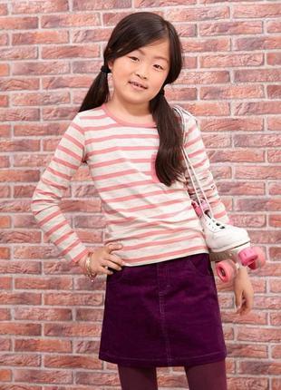 Супер модная вельветовая юбка от tcm tchibo, рост 146-152