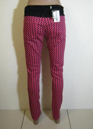 Малиновые демисезонные брюки american retro арт.920 + 2000 поз...