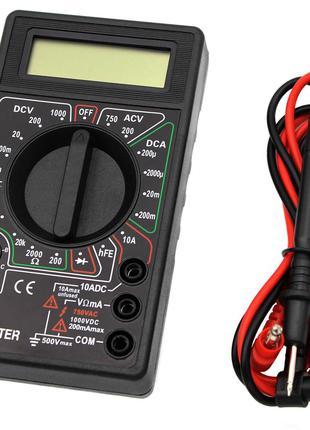 Мультиметр DT-830В (Тестер), типы измерений - DCV, АCV, DCA, А...