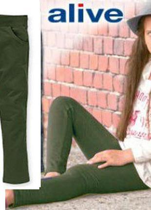Штаны, брюки для девочки, рост 140 , alive