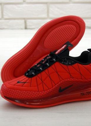 Nike air max 720-818 red, мужские демисезонные кроссовки найк ...