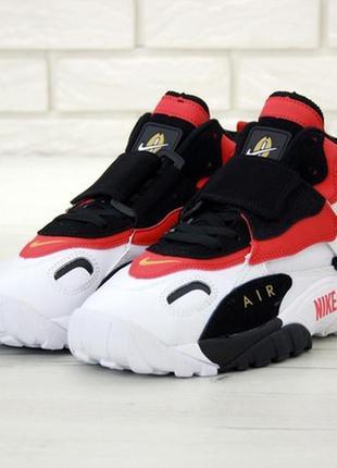 Nike air max speed turf white/black/red мужские кроссовки найк...