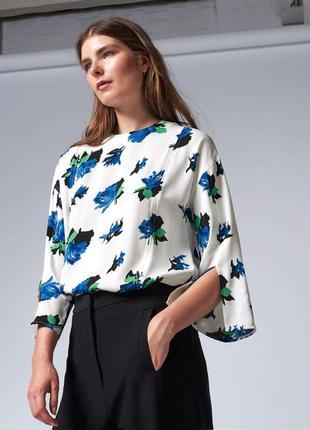 Warehouse блуза в цветочный принт