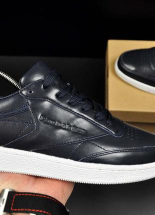 Кроссовки reebok club c 85 leather