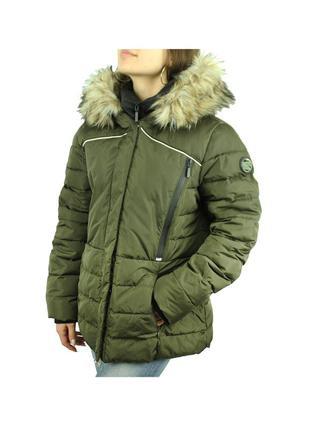 Пуховик зимняя куртка на пуху оригинал ориг