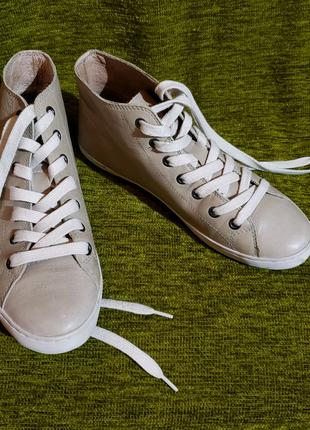 Ботинки кожаные Roberto Santi (original)