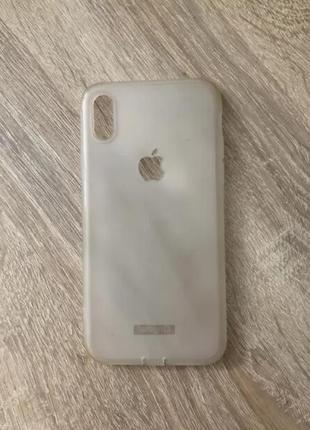 Силиконовый чехол для iphone x 10