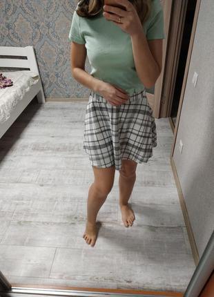 Красивая легкая юбка солнцеклеш