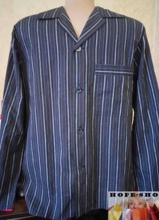 💞🌙хлопковая рубашка для сна с длинным рукавом s.распродажа.