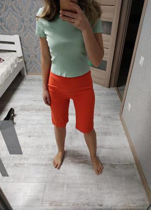 Новые удлиненные шорты бриджи