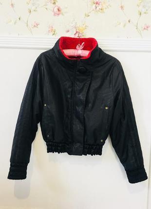 Двусторонняя куртка бомбер adidas