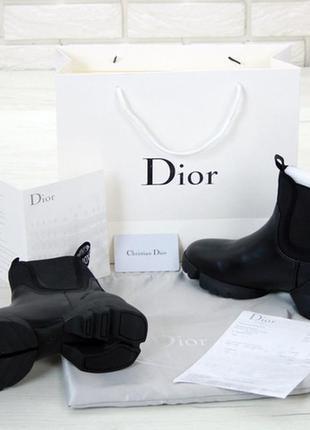 Шикарные женские черные ботинки, демисезонные весна-осень