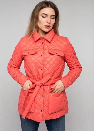 Стеганая куртка, курточка демисезонная, осенняя куртка, женска...