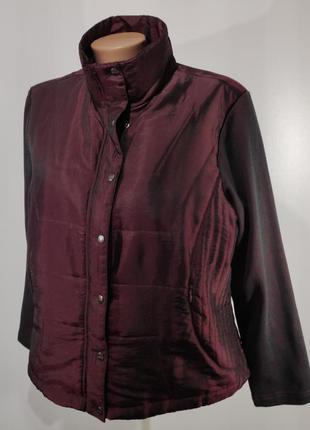 Женская куртка на легком синтепоне размер 44