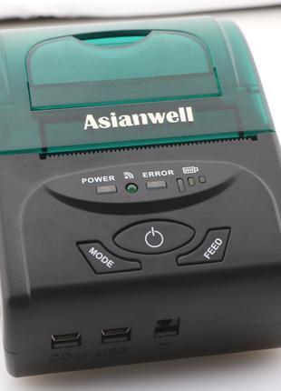 Мобильный чековый принтер AW-5807LD bluetooth, Android Windows