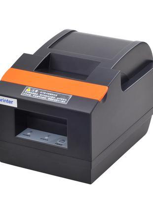 Чековый принтер Xprinter XP-Q90EC USB с автообрезкой 58мм.