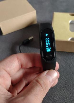 Фитнес браслет с пульсометром M2S + измерение давления Аналог ...