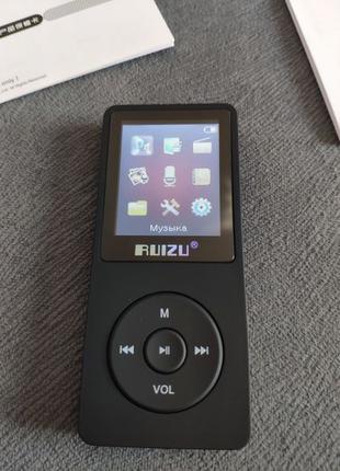 MP3-Плеер Ruizu X02 8Gb Оригинальный аудио плеер
