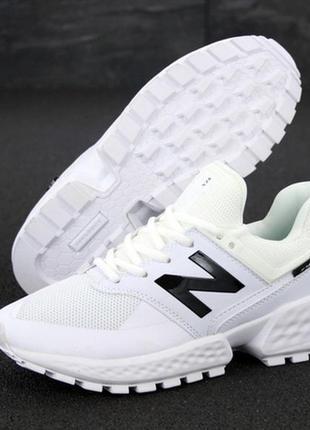 Мужские кроссовки new balance 574 sport v2 white, нью беленс б...