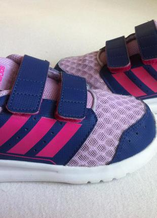 Ультралегкие кроссовки adidas размер 25-26 по стельке 16 см ор...