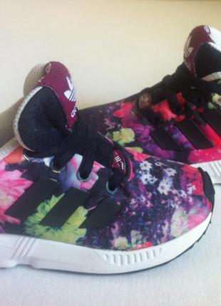 Мега стильные кроссовки adidas zx flux размер 24-25стелька 15с...