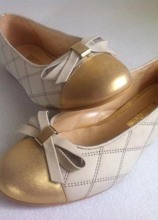 Стильные балетки , туфли gabor размер 35 по стельке 22,5 см ор...