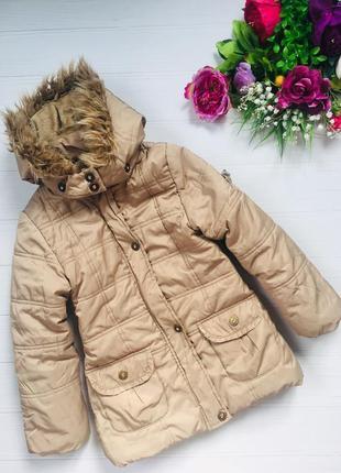 Mayoral chic стильная карамельная куртка пальто